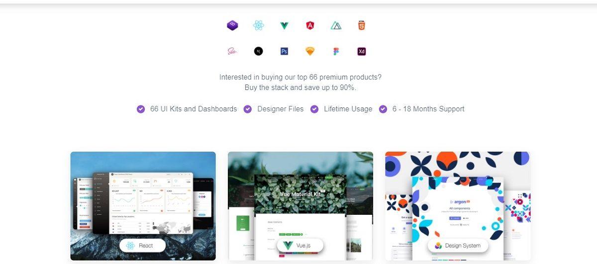 Creative-Tim Summer Deal - Full-Stack Bundle.
