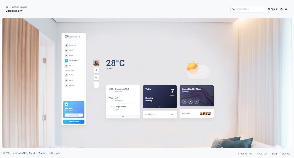 Material Dashboard Soft UI Dashboard - Open-source dashboard template.
