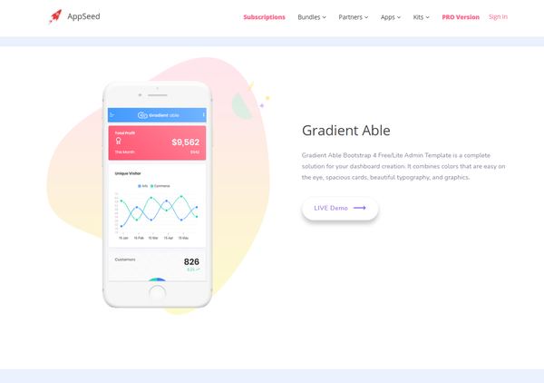 Gradient Able - Free Download